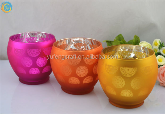wedding center pieces candle jars pineapple decoration round table with lazy susan