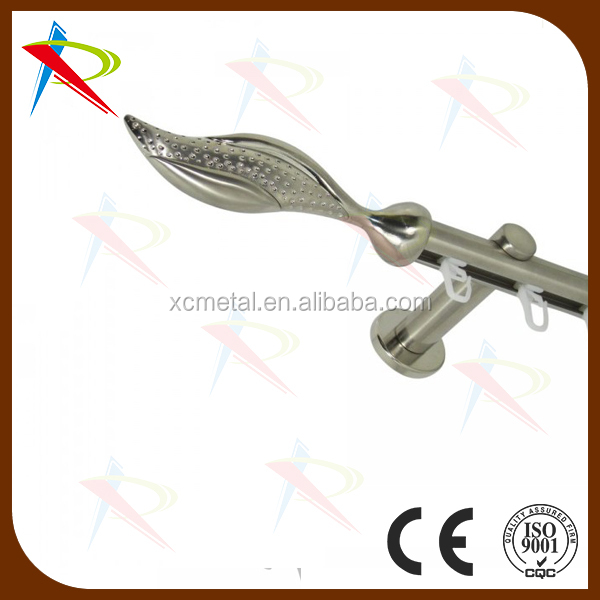 Germany Double Curtain Rods Curtain Track Rails