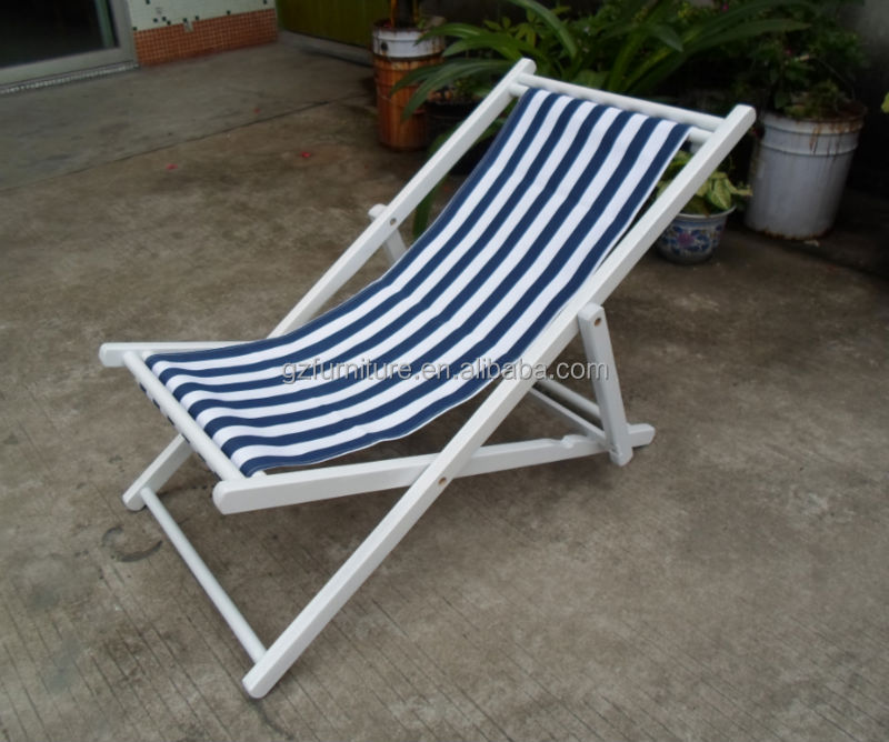 Outdoor Deck Chairs Wooden Folding Deck Garden Chair With