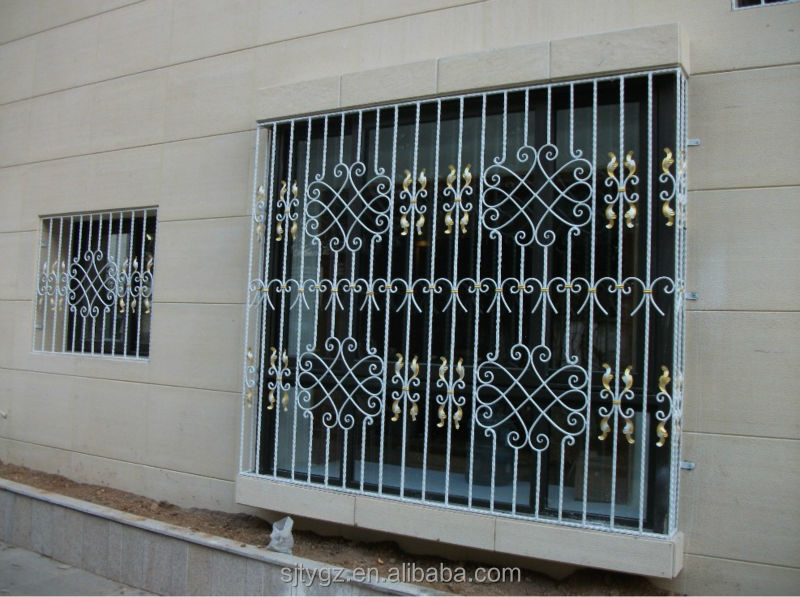 iron window grill simple the new design iron window grill color color view