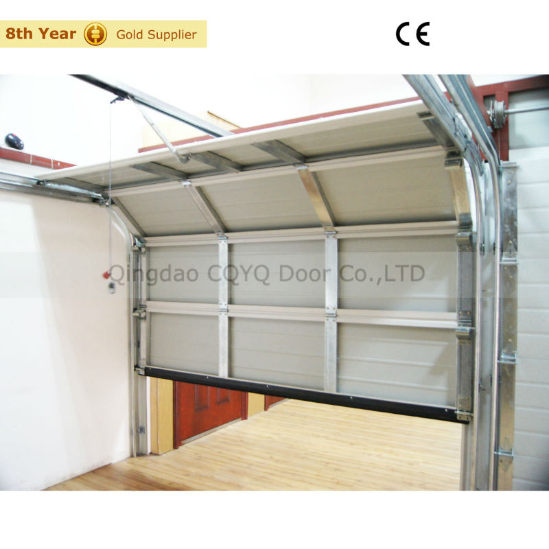 Sectional Garage Doors Product : Single skin steel sectional garage door residential