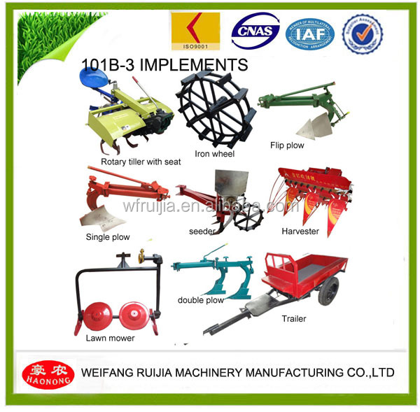 Disc Plough For Walking Tractor Power Tiller Made In China!