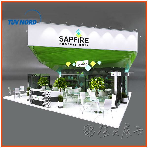 Modern Exhibition Booth : High quality golden supplier modern trade show booth