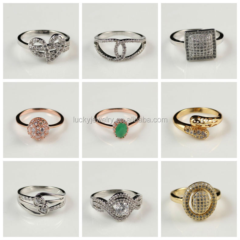 Cheaper Price Men Boy Diamond Ring Fashion Ring Gold Finger Ring ...