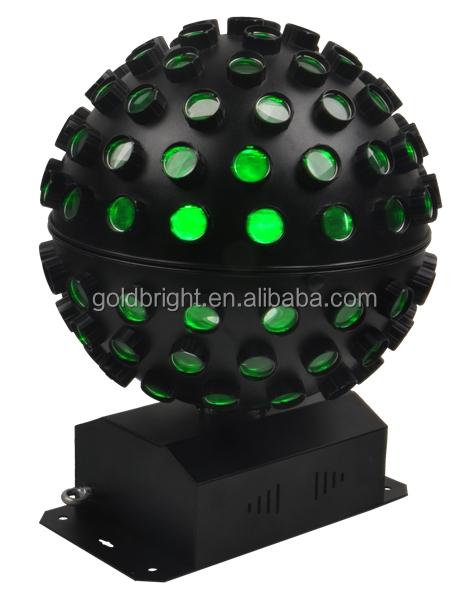 Moving-head disco mirror ball led effect lighting