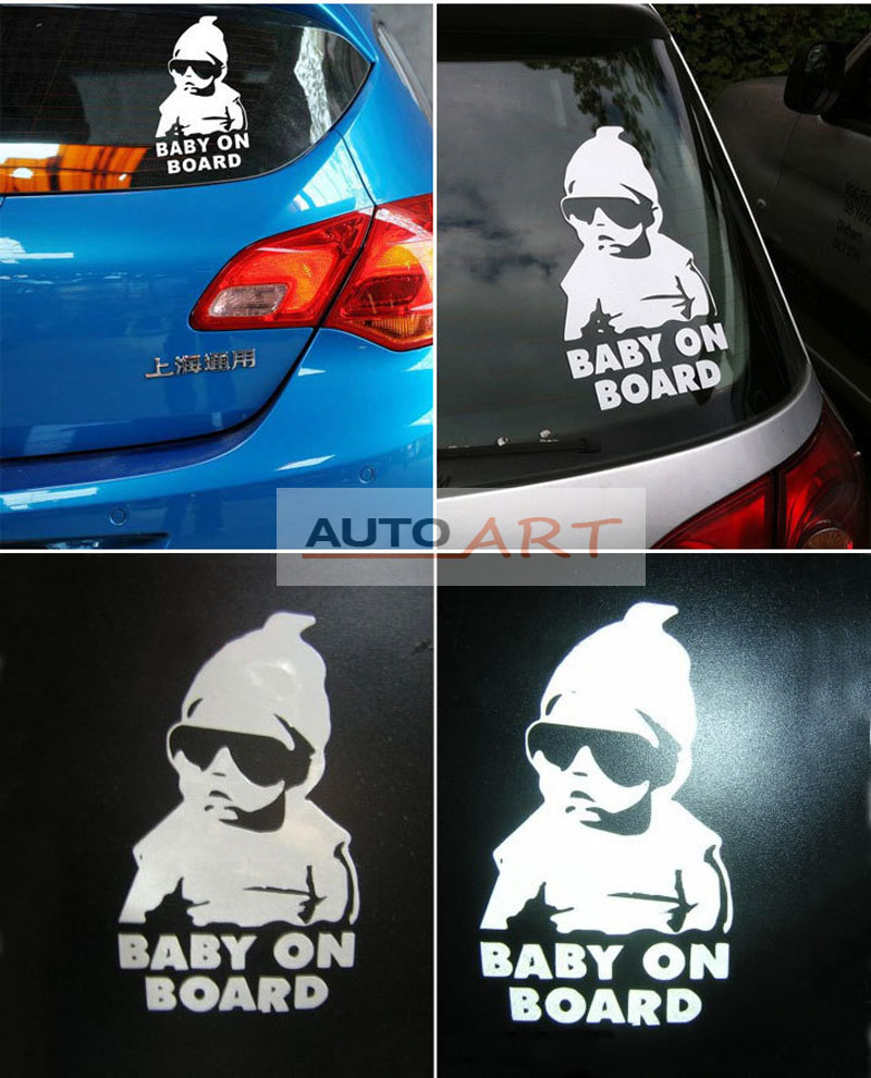 Funny Truck Car Window Laptop Hangover Baby On Board Vinyl Decal - Unique car decals stickers