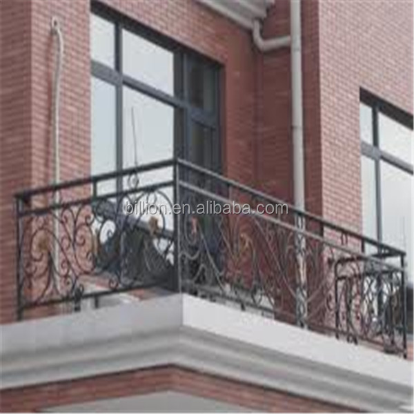 Modern Galvanized Rod Iron Balcony Railing Designs Buy Balcony Railing Galvanized Rod Balcony Railing Galvanized Iron Balcony Railing Product On Alibaba Com