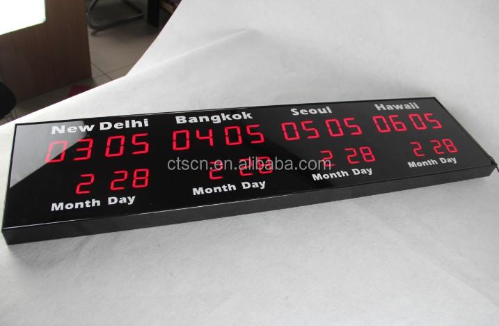 25920431e29 Relógio Do Fuso Horário Mundial