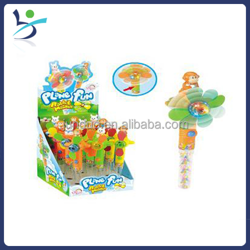 Flash Light Cool Fan Candy Dispenser Led Light Candy Toy With ...