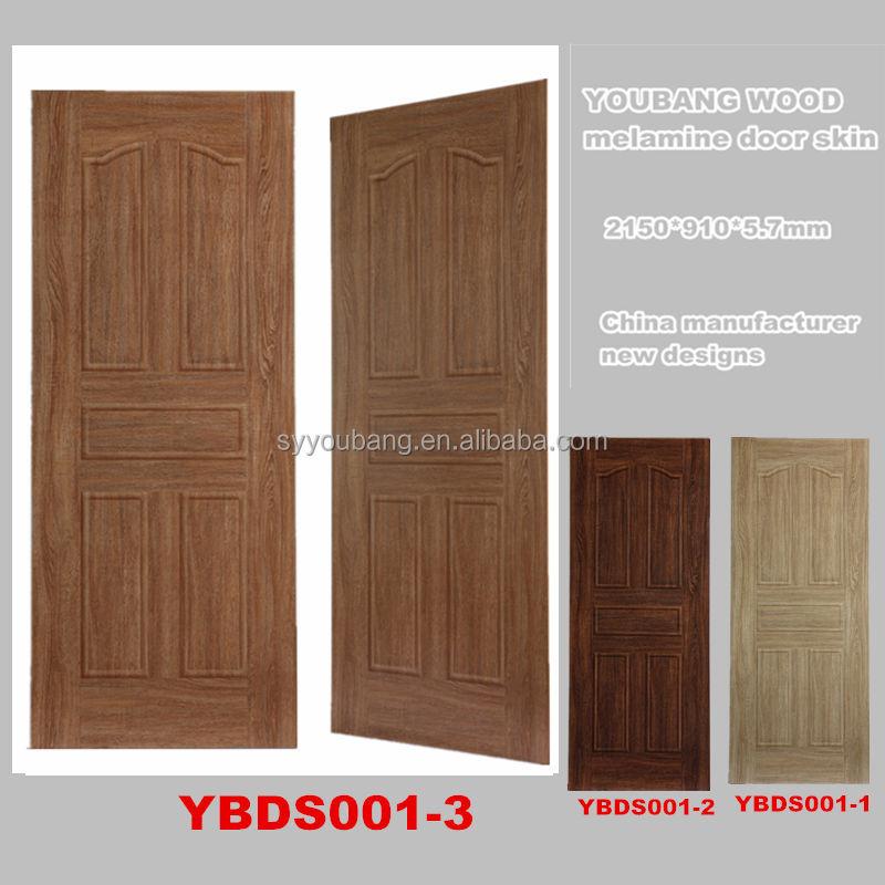 Mm New Design Best Price Melamine Door Skin India Ybds