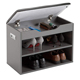 modern wooden shoe rack cabinet for apartment indoor use