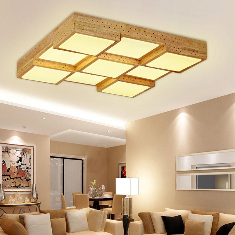 deckenleuchte wohnzimmer holz. Black Bedroom Furniture Sets. Home Design Ideas