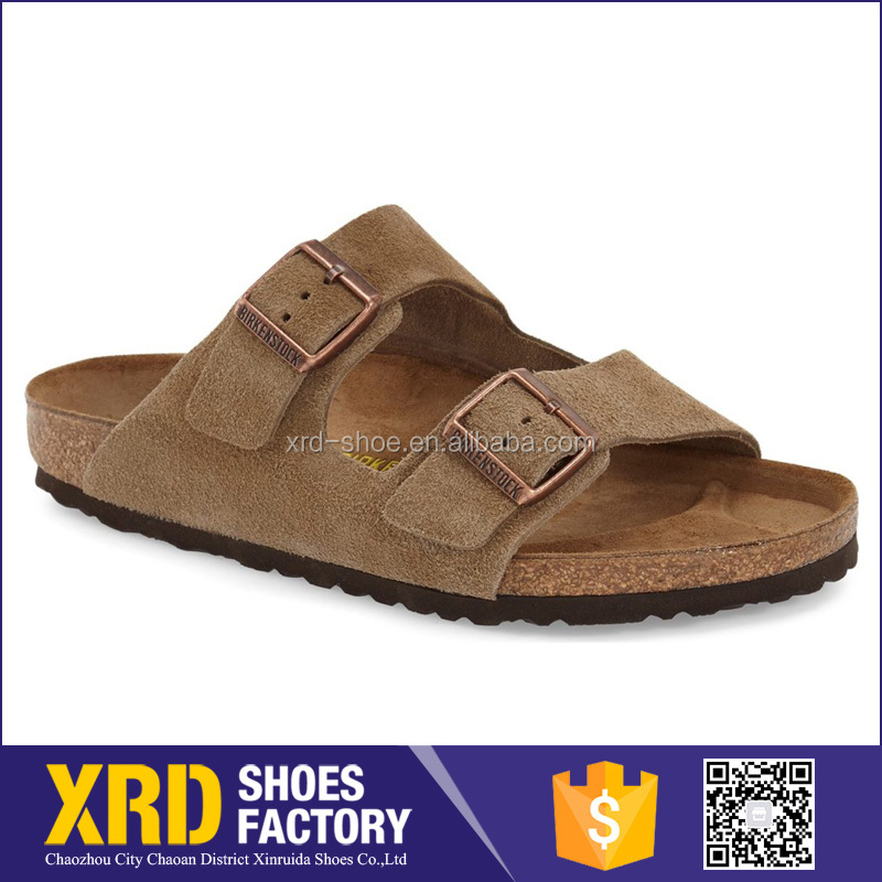 Factory supply shoes germany/leather men sandal