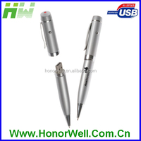 Whole sale pen usb flash drive with logo printing