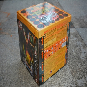 Professional consumer cake fireworks with CE certificate for birthday with high quality