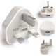 True CE Certified UK 3Pin USB AC Mains Power Wall Charger Plug Adapter