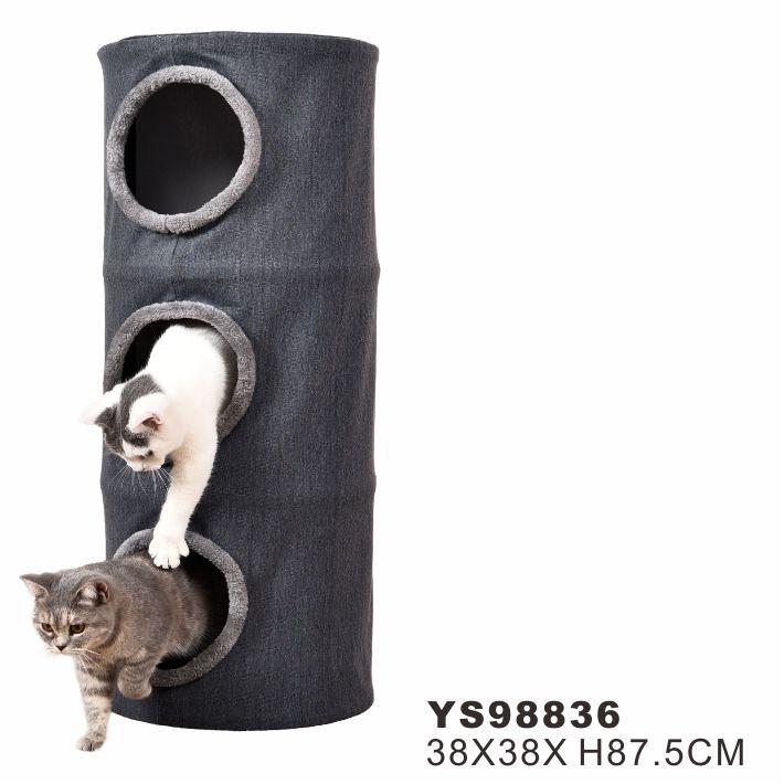 Manufacture Sale Customized Pet Tree Condo Cat