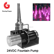 50W~750W Variable Speed Water Pump 24VDC DMX512 Control for Musical Fountain application
