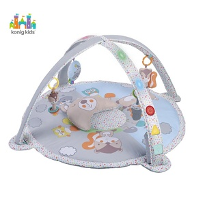 Konig Kids Baby Products Round Baby Play Gym And Mats,Indoor Baby Gym With Function