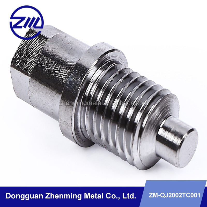 customed stainless steel screw bolt and nut custom fabrication cnc machining service