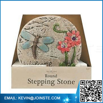 Decorative Custom Stepping Stone,cheap Garden Stepping Stones,stepping Stone