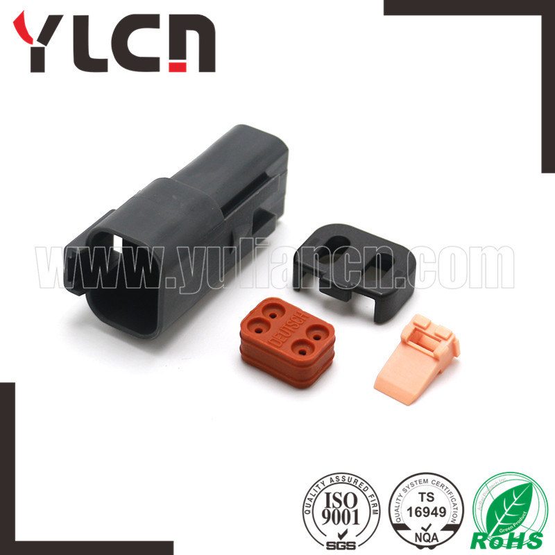 YLCN Manufacture 4 pin male plastic cable wire auto connector DJ3041Y-1.6-11