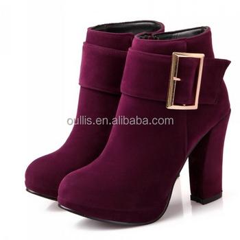 080c59e4ec02f Latest Ladies Elegant Footwear Boots Shoes Women Ankle Boots Cp6632 ...