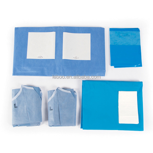 Disposable angiography drape pack for surgical