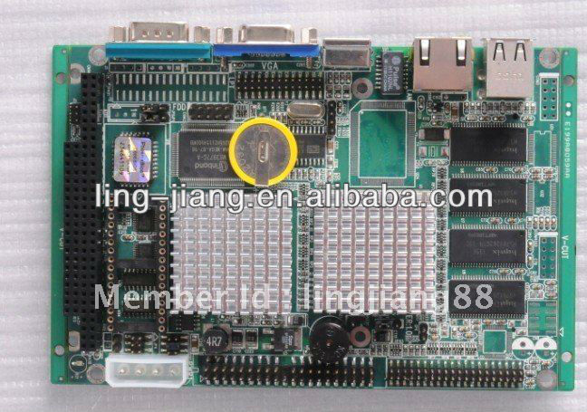 AMD CS5530A Chipset industrial motherboard with support AC' 97 Audio (PCM3-5530)