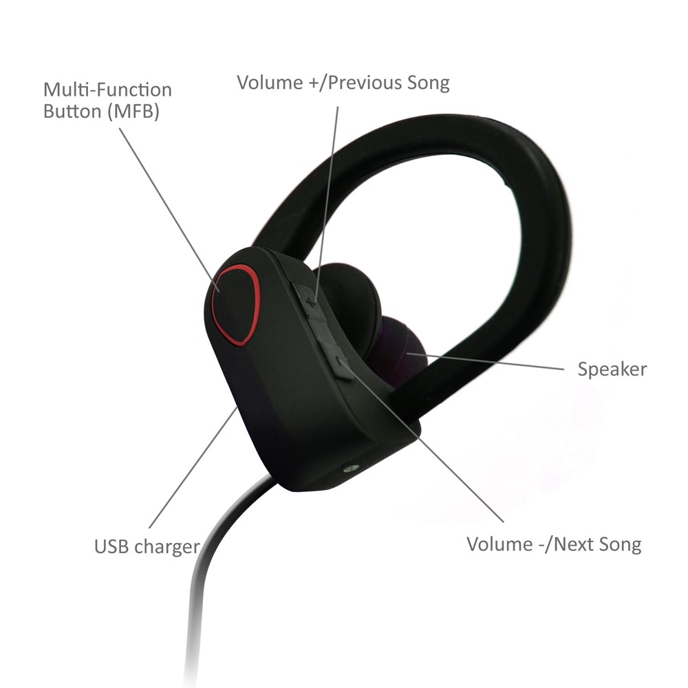 Quality Active Noise Cancelling Headphone Bluetooth Earphone 4.1 ...