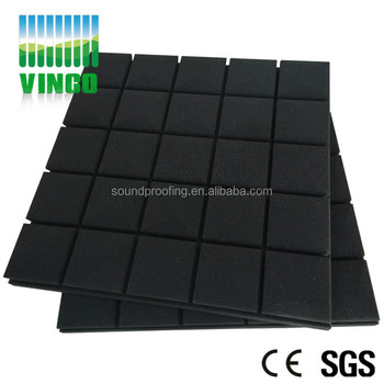 Wedge Shape Sound Proofing Foam Acoustic Insulation Wall For Meeting Room Or Home Theater