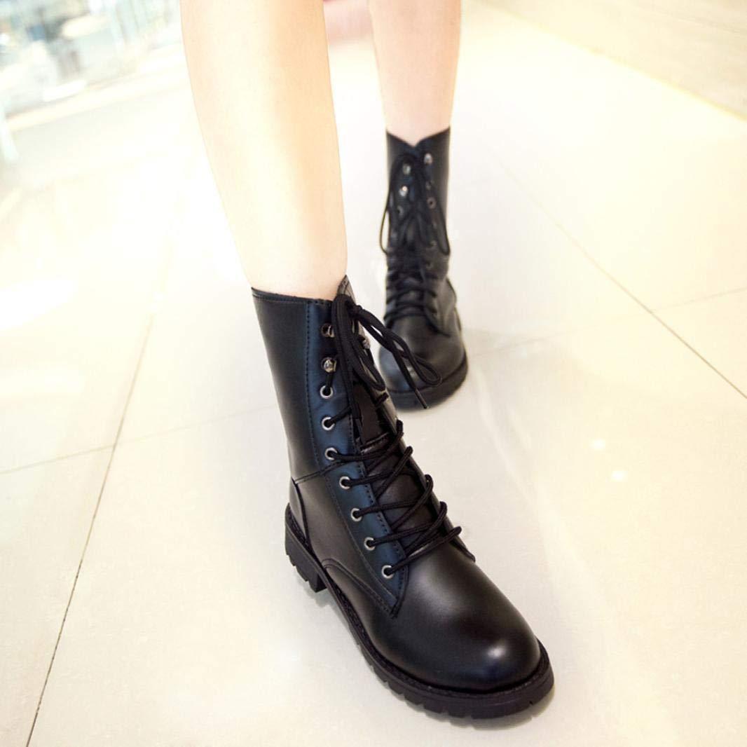 236fef7b8a8 Get Quotations · Gyoume Women Girls Martin Boots