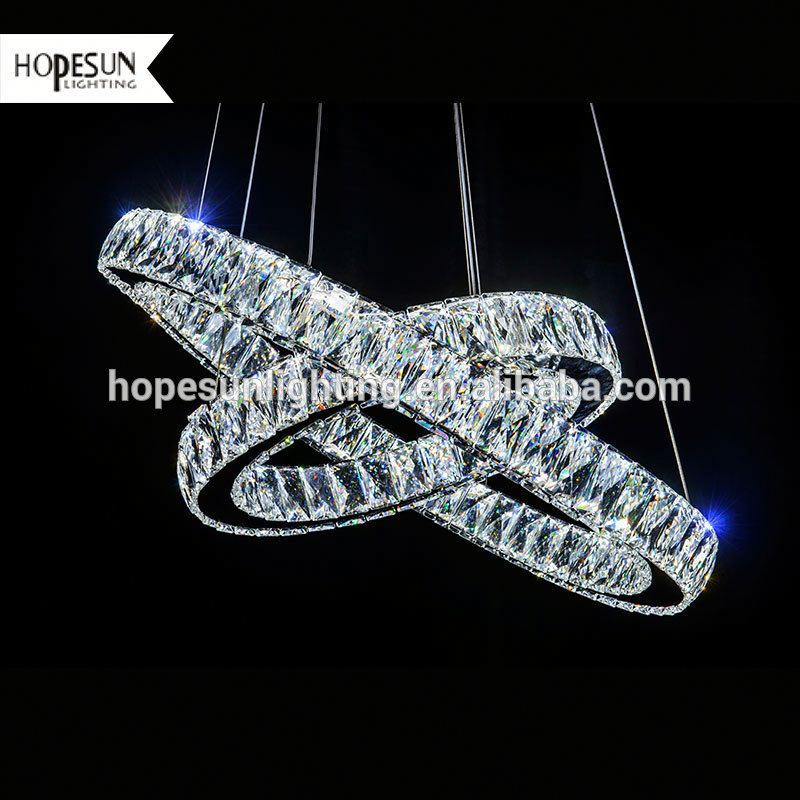 Cost-effective modern style led crystal pendant light modern led acrylic
