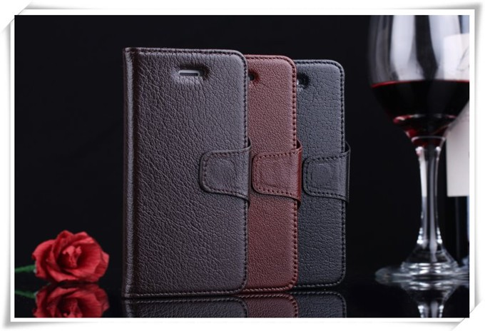 China supplier flip cover case for gionee f103 genuine leather stand cover