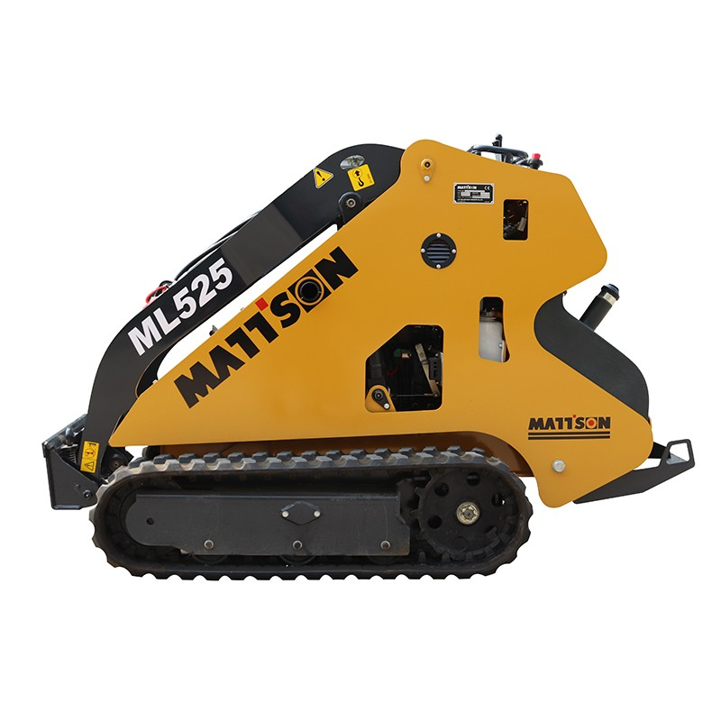 2018 Chinese mini skid steer loader wheel loader with pallet fork bobcat  made in china