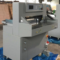QZYK680DL-7 Hydraulic Double Guide Guillotine Digital Paper Cutter Machine