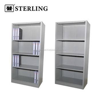 Full Height Cupboard Without Door C/w 3 Adjustable Shelves