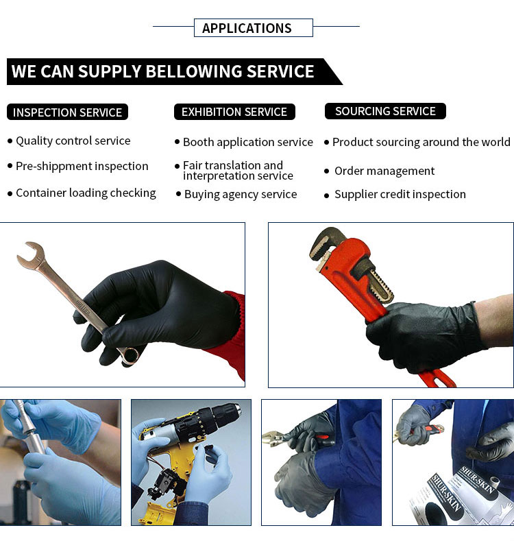 Factory Price Breathable Disposable Medical Hand Nitrile Gloves