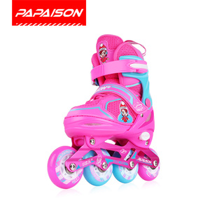 Girls gift toy electric wheels inline roller skates shoes for indoor outdoor skating