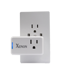 Wifi smart wall power timer outlet remote control us adapter switch electrical 120v socket plug