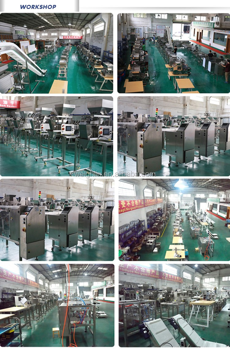 Automatic intelligent duplex double level vibrator 1 2  3 4 head linear Weigher for screw, nuts, bolt, metal parts, jelly, beef