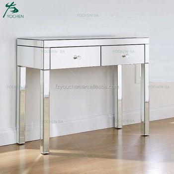 Consolle Di Vetro.Consolle A Specchio Corridoio Di Vetro Mobili 2 Cassetto Spogliatoio Buy A Specchio Consolle Product On Alibaba Com