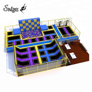 Xiaofeixia Super Quality Customized Trampoline Park Security Assurance Kids Indoor Playground Exciting Soft Jumping Bed For Sale