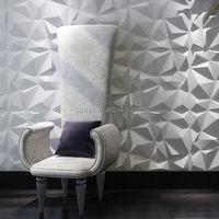 3d plant fiber wall panel hotel partition 3d for home decoration