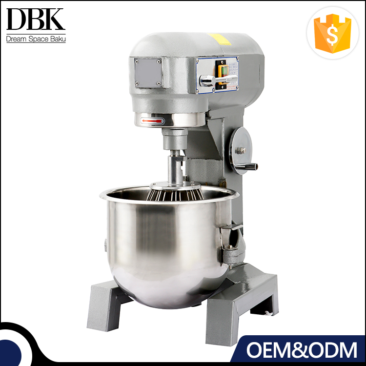 DBK Manufacture 10L 15L 20L 30Lcommercial Stainless steel food planetary dough mixer