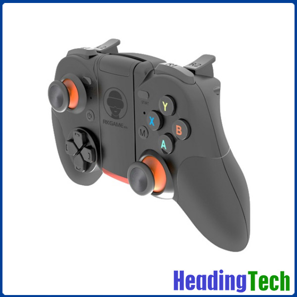 2016 factory price RKGAME 4.0 bluetooth rgb pc gun controller for xbox, mobile phone, tablet