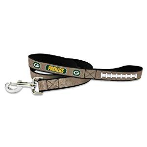NFL Green Bay Packers Reflective Football Leash