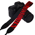 Red stripes Cotton Camera Shoulder Strap Neck Band Belt for Canon for Nikon for Pentax for