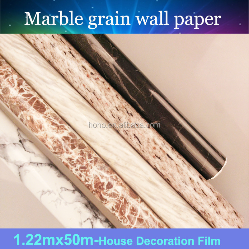 Hot sale marble sticker/foils/decals marble floor sticker marble effect film