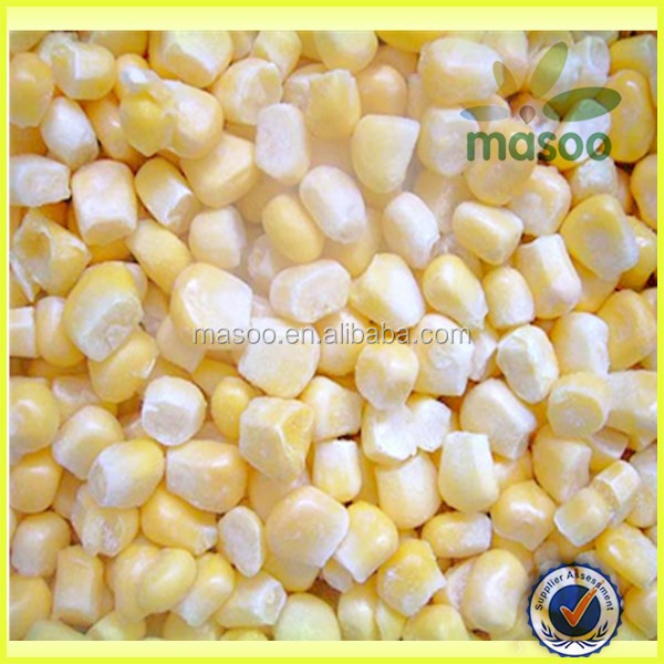 Iqf Frozen White And Yellow Sweet Corn Kernels